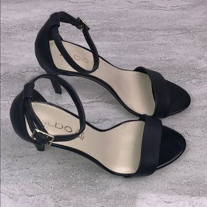 ALDO Black Heels Size 8